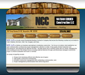 Minnesota Valley Technology Inc., website design for Nathan Corder Construction, LLC.  We also specialize in network support for small to medium size businesses.  Branch office connectivity with secure VPN technologies, content filtering to help reduce unwanted employee websurfing on company time, remote managment options, backup solutions, and more... so please call our office to make an appointment.