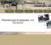 Minnesota Valley Technology Inc., website design for Perennial Lawn & Landscape, LLC.  We also specialize in network support for small to medium size businesses.  Branch office connectivity with secure VPN technologies, content filtering to help reduce unwanted employee websurfing on company time, remote managment options, backup solutions, and more... so please call our office to make an appointment.